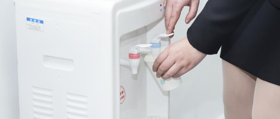 购买桶装水分录