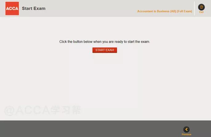 ACCA(AB)科目机考操作步骤