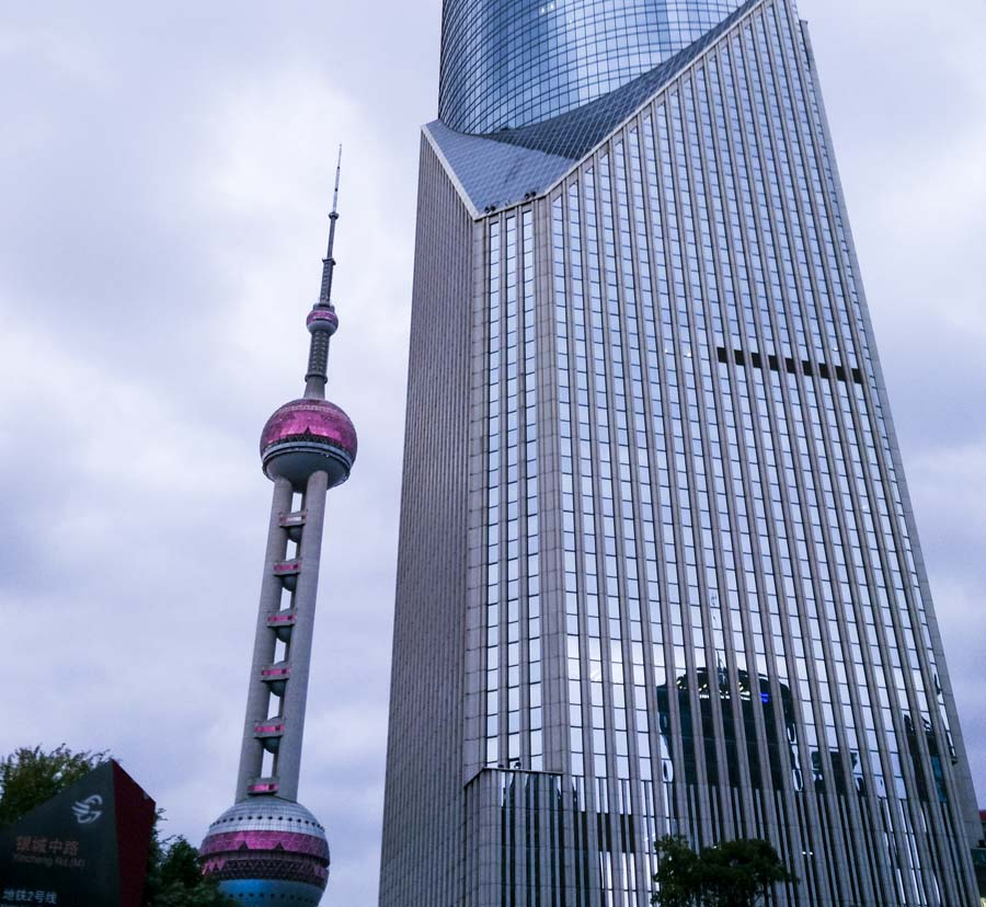 東方明珠 金融 高樓41